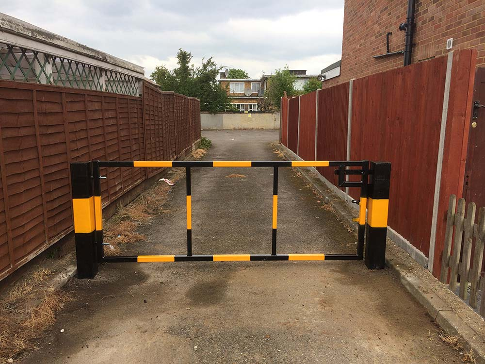 Commercial Security Gate